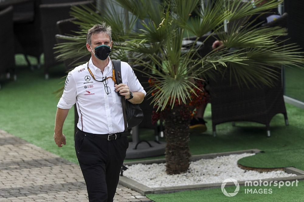 Mercedes reshuffles F1 technical team, Allison promoted to CTO