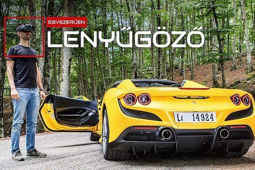 Videó: Kipróbáltuk a Ferrari F8 Spidert, az eredmény egyszerűen csodás!