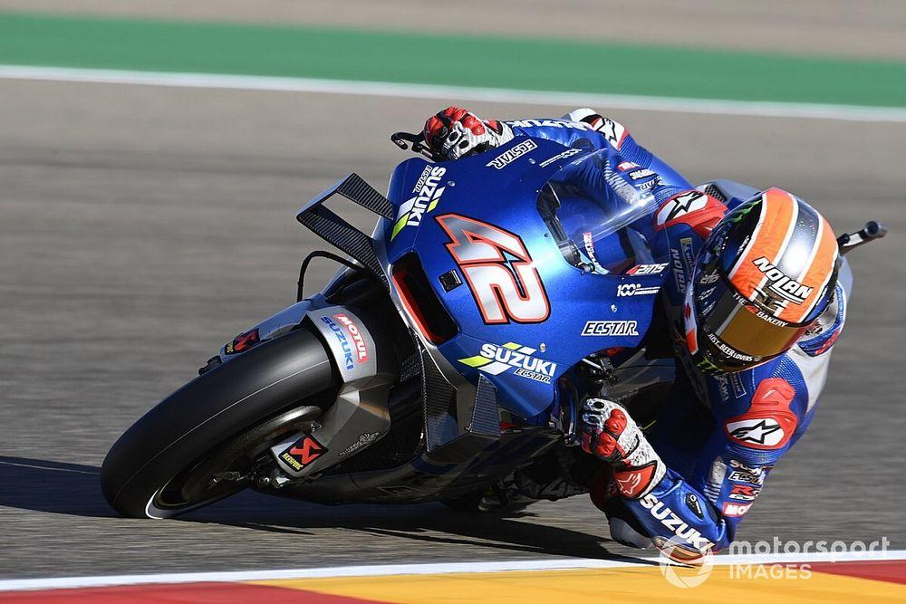 MotoGP, Aragon: festa Suzuki con Rins, ma che Alex Marquez!