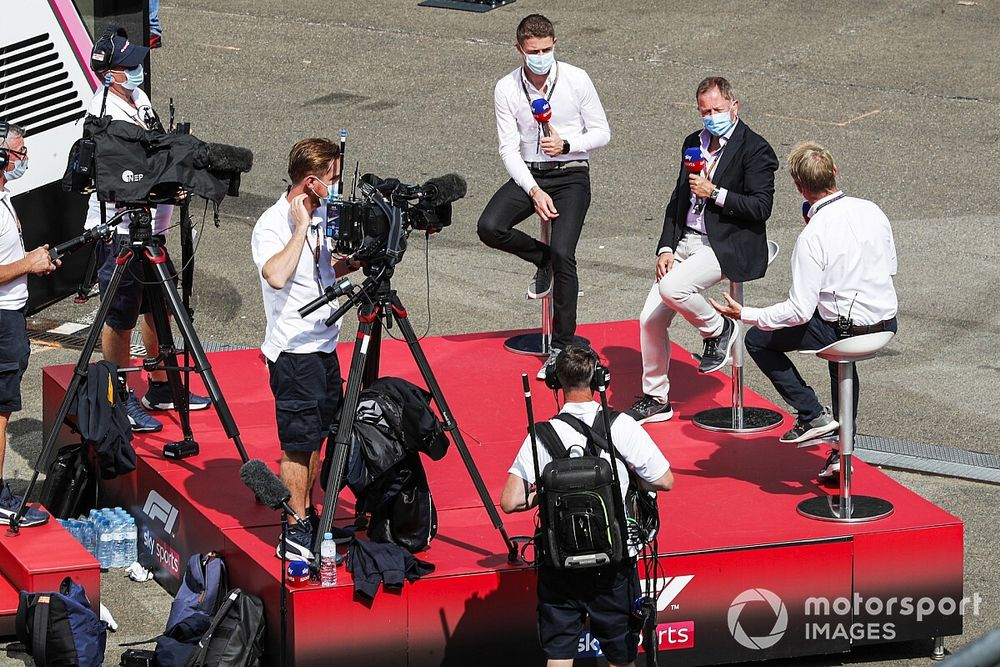 F1 Commentators: ESPN's Sky Sports commentary team for 2021