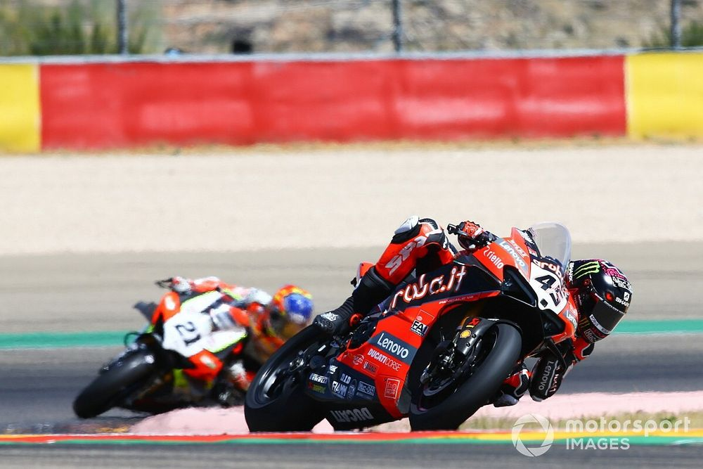 """Redding: Fourth place at Aragon """"not acceptable"""""""