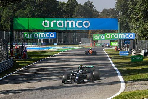 Volledige uitslag eerste training F1 Grand Prix van Italië