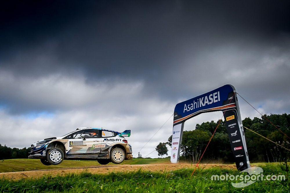 WRC: Lappi y Ogier empatan en el primer tramo de Estonia