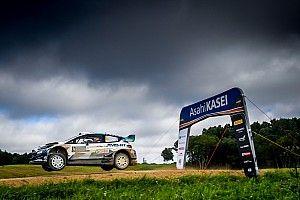 Lappi y Ogier empatan en tiempo el viernes en Estonia