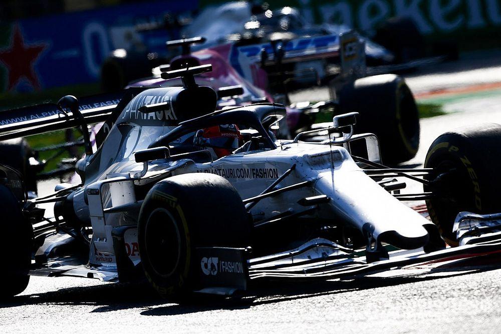 """Kvyat : Le """"pire scénario"""" a aidé Gasly à gagner le GP d'Italie"""