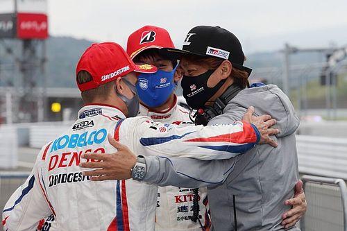 新体制で初勝利、39号車SARD脇阪監督「ヘイキや雄一にとっても大きな一歩になった」