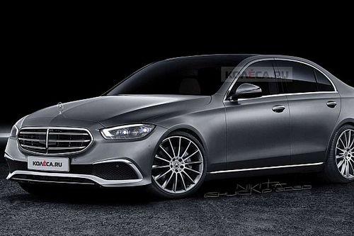 Novo Mercedes Classe C 2022 ganha melhor projeção até o momento