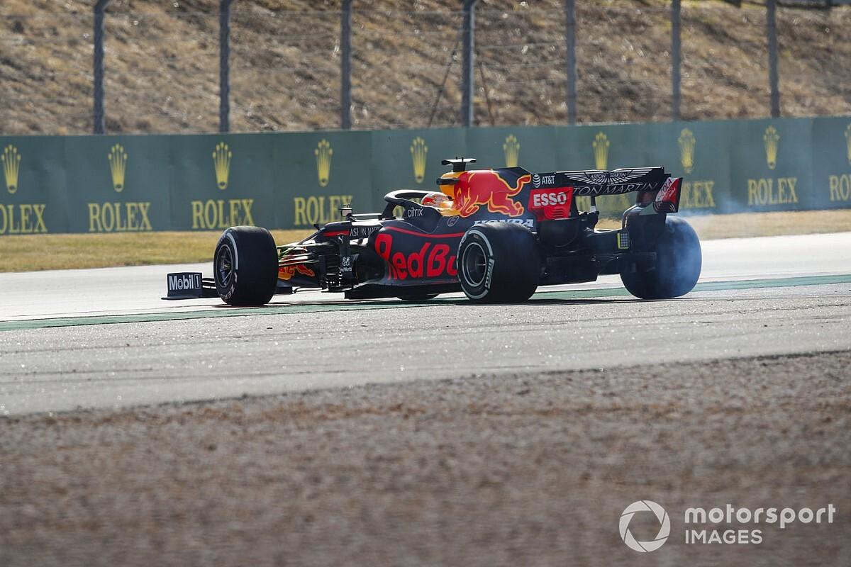 """Verstappen : """"On ne peut pas attaquer, on pilote sur la glace"""""""