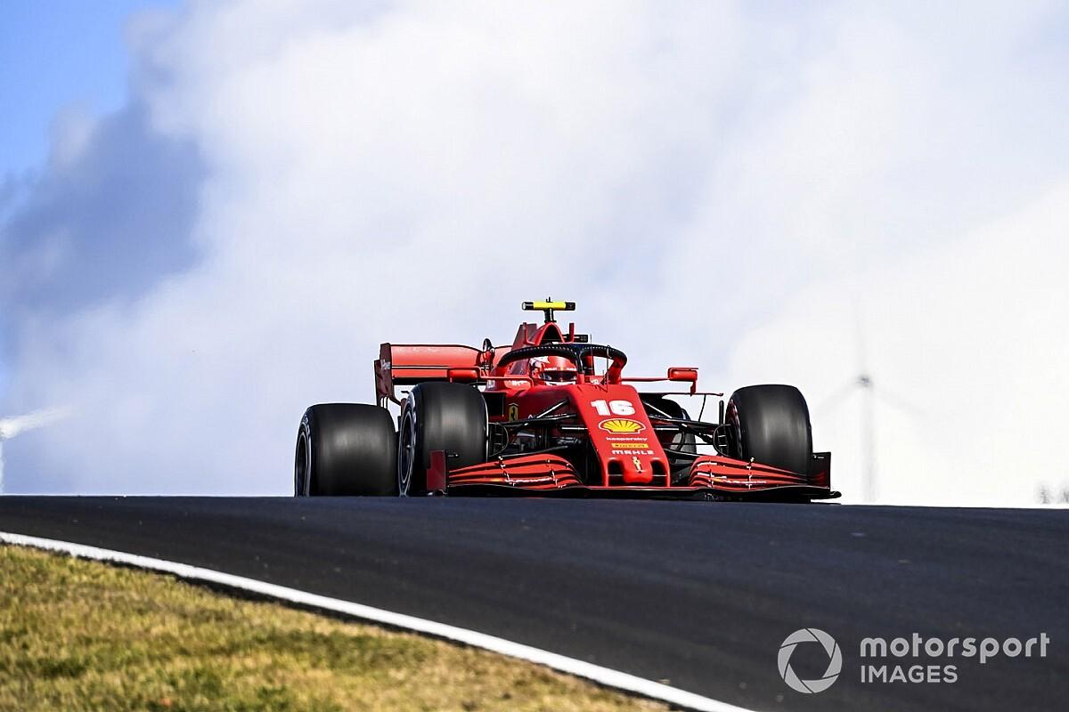 """Leclerc: """"Ferrari'nin güncellemeleri cesaret verici"""""""
