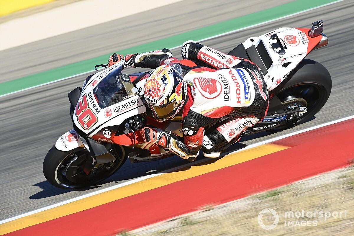 MotoGP, Teruel, Libere 2: Nakagami in vetta, Ducati a picco