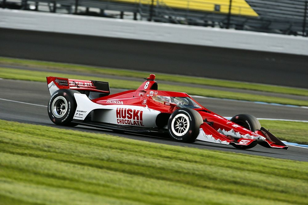 IMS IndyCar: Ericsson leads Rossi in raceday warm-up