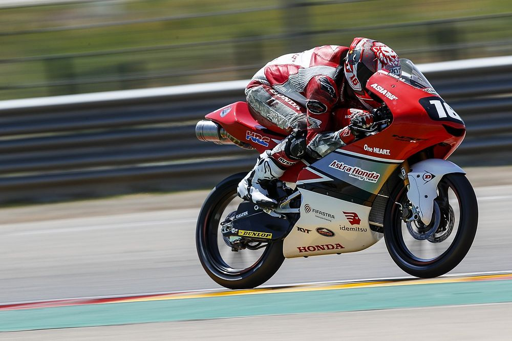 Hasil Kualifikasi CEV Moto3 Jerez: Ortola Pole, Mario Aji Grid Ketujuh