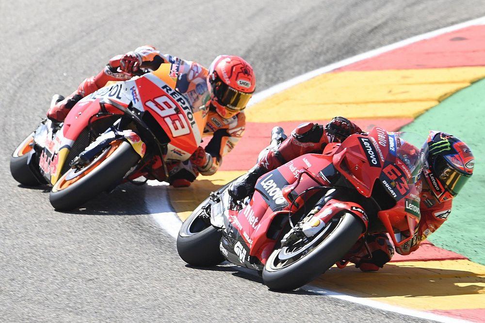 Course - Bagnaia résiste à Márquez et s'offre son premier succès !