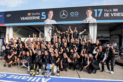 Officieel: Mercedes stopt met Formule E-team