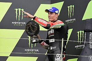 """Aleix Espargaró: """"No me quiero bajar del podio en lo que resta de año"""""""
