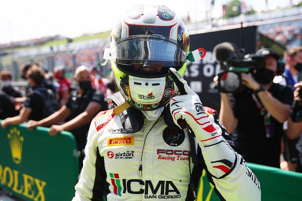 Dapat Penalti, Kemenangan Colombo di Race 1 F3 Hungaria Dicabut