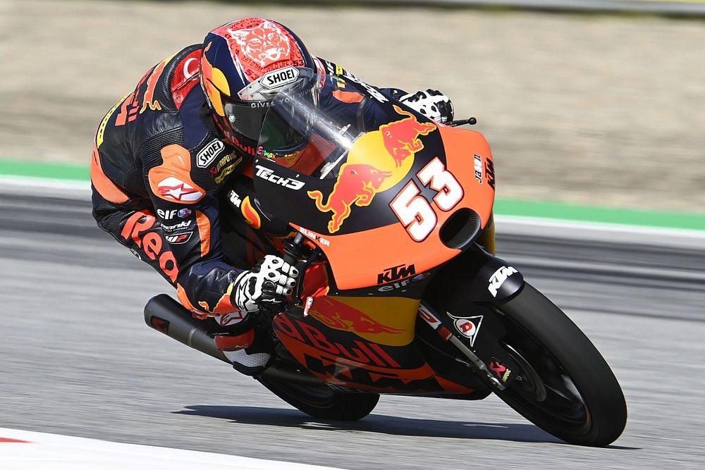 Moto3スティリア予選:オンジュが初PP獲得。日本勢トップは14番手の鈴木竜生