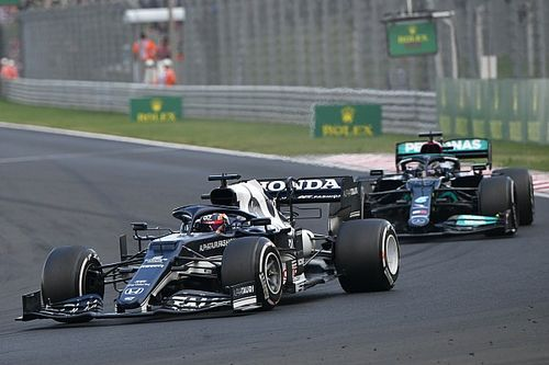 角田裕毅、ハンガリーGPの乱戦をくぐり抜け自己最高位7位「今週末はずっとマシンに苦しんでいた」