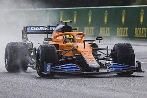 Norris taken to hospital for checks after Belgian GP qualifying crash