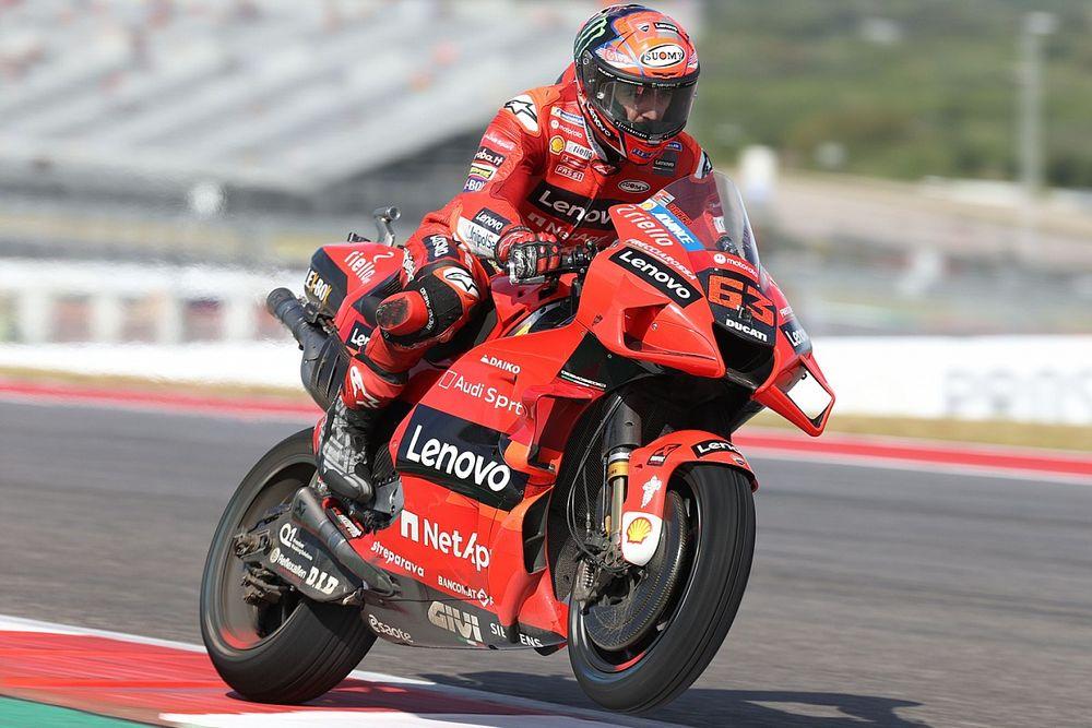 MotoGP Austin: Bagnaia, inanılmaz turu ile üst üste üçüncü kez pole'de!