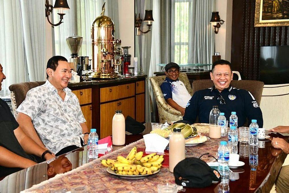 Bamsoet dan Tommy Soeharto Sepakat Jadikan Sentul Pusat Otomotif
