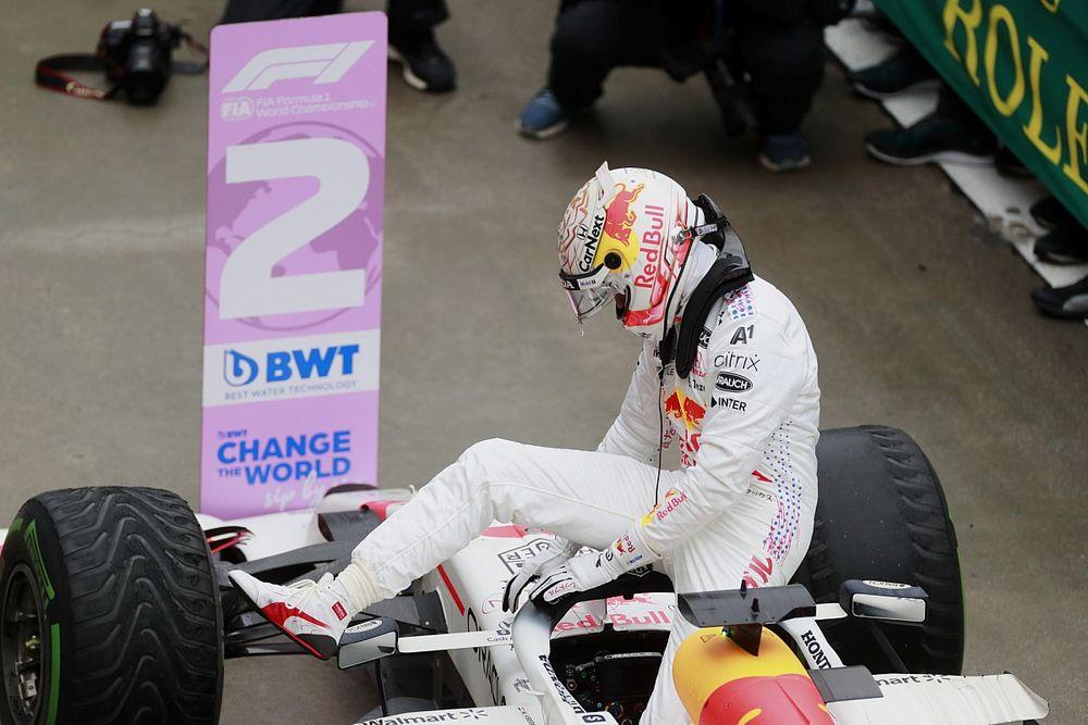"""Verstappen: """"Bottas'a yetişecek hıza sahip değildim"""""""