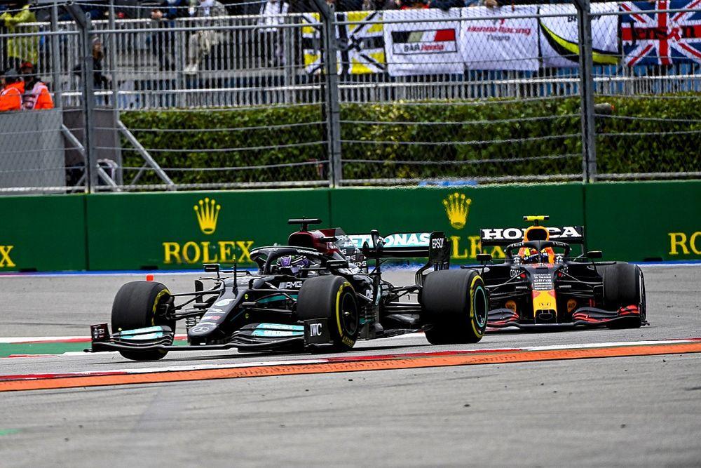 Las diferencias de set-up entre Mercedes y Red Bull