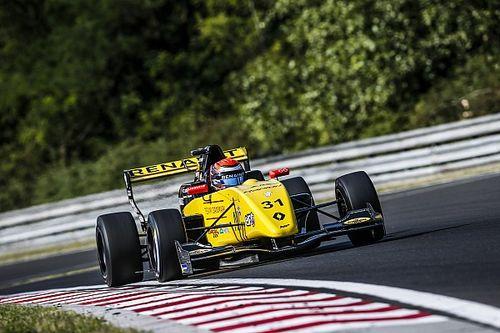 FR 2.0 Hungaroring: Lundgaard slaat dubbelslag vanaf pole-position