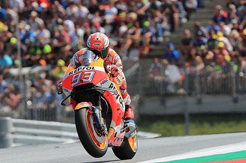 """Marquez: """"La pole? Sono più felice per la prima fila. Dovi e le Ducati sono forti, ma ho un buon passo"""""""