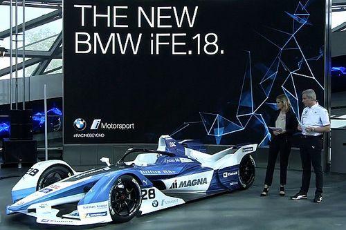 Fotogallery: la monoposto iFE.18 della BMW per la Formula E Gen2