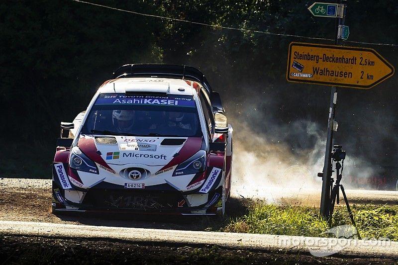 Tanak mantiene su estado de gracia en el arranque del Rally de Alemania