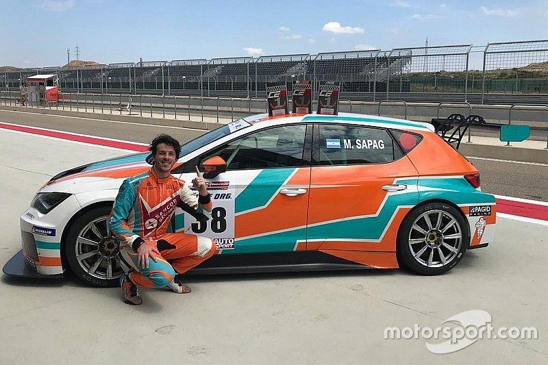 Europe: Sapag primo argentino a correre nella serie a Monza