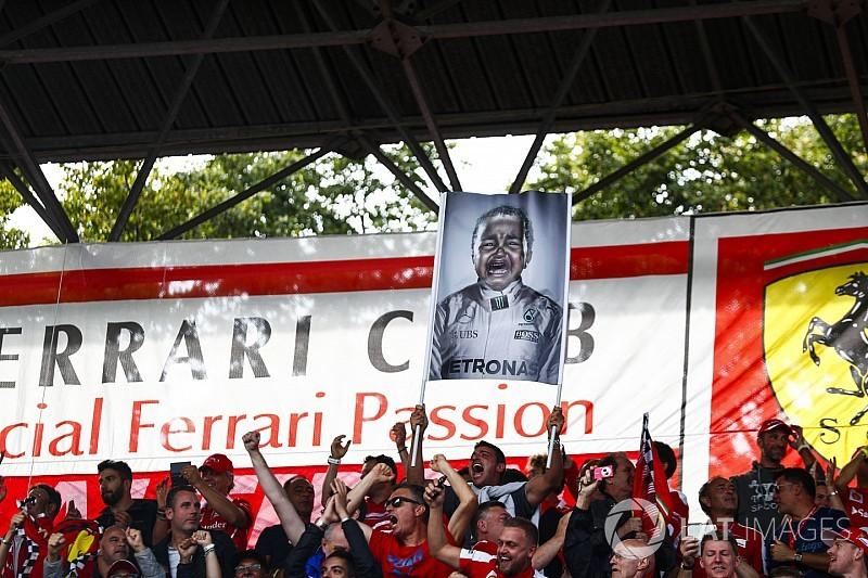 A Ferrari volt elnöke undorodik attól, amit Hamiltonnal csinált a közönség Monzában