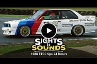 Retro: Bekijk de hoogtepunten van de 24 uur van Spa 1988