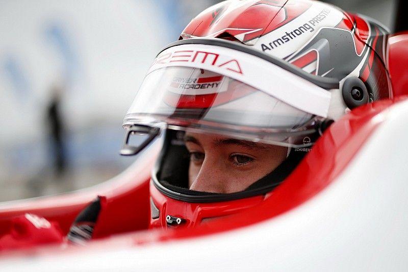آرمسترونغ ناشئ فيراري ينضمّ إلى فريق بريما في بطولة الفورمولا 3 الجديدة
