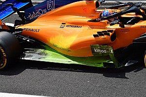 Revue technique - McLaren victime des faiblesses de son châssis