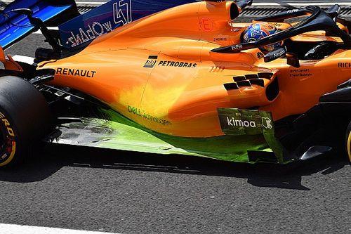 F1: Ex-engenheiro da Mercedes explica tinta fluorescente usada nos carros durante treinos
