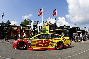 Joey Logano tops Kyle Busch in final Cup practice at Michigan