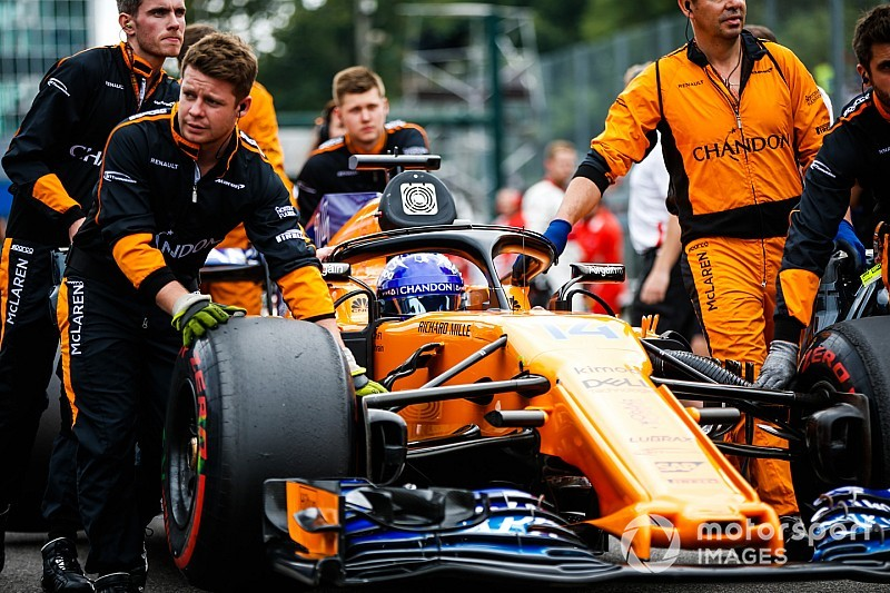 Уайтинг: Если бы в McLaren забыли заказать шины, мы бы им напомнили