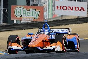 Sonoma IndyCar: Dixon leads Power in final practice