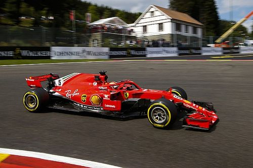 Vettel supera Hamilton e vence GP da Bélgica