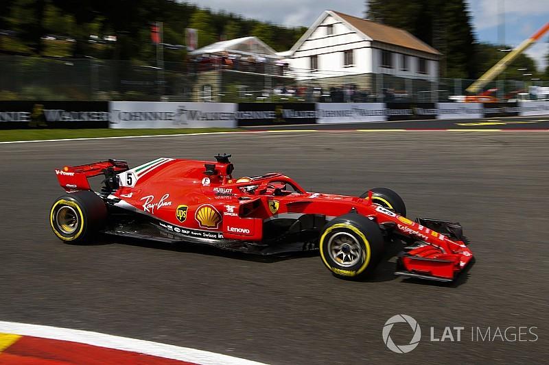 "Vettel: ""Estamos na direção certa"" na Bélgica"