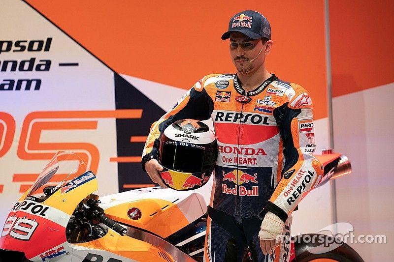 Lorenzo compara su llegada a Honda con sus inicios en MotoGP al lado de Rossi