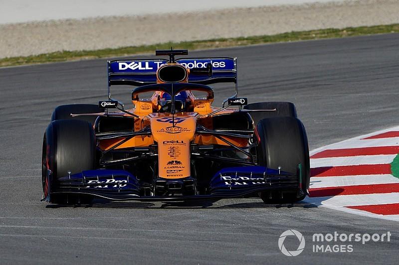"""""""Vraiment une bonne journée"""" pour Sainz et McLaren"""