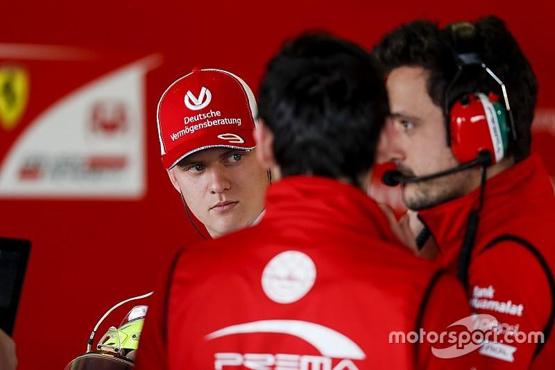 Mick Schumacher na testach F1