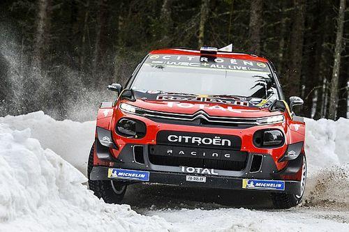 ES12 à 14- Lappi et sa Citroën sur le podium provisoire