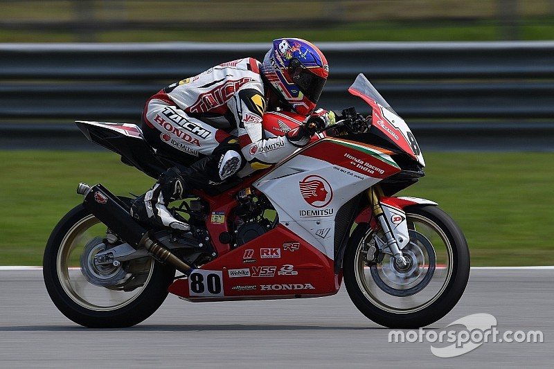 Malaysia ARRC: Honda India scores double points finish in Race 1