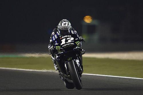 Viñales cierra la pretemporada de MotoGP en Qatar con el mejor tiempo