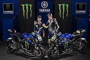 Yamaha enthüllt neue M1 von Valentino Rossi und Maverick Vinales
