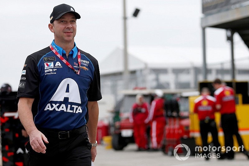 "Chad Knaus says new role has ""put some wind in the sails"""